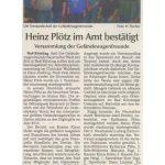 Bericht aus der Kötztinger Zeitung vom 13. März 2014 zur Jahreshauptversammlung