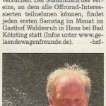Kötztinger Zeitung 04.05.2012