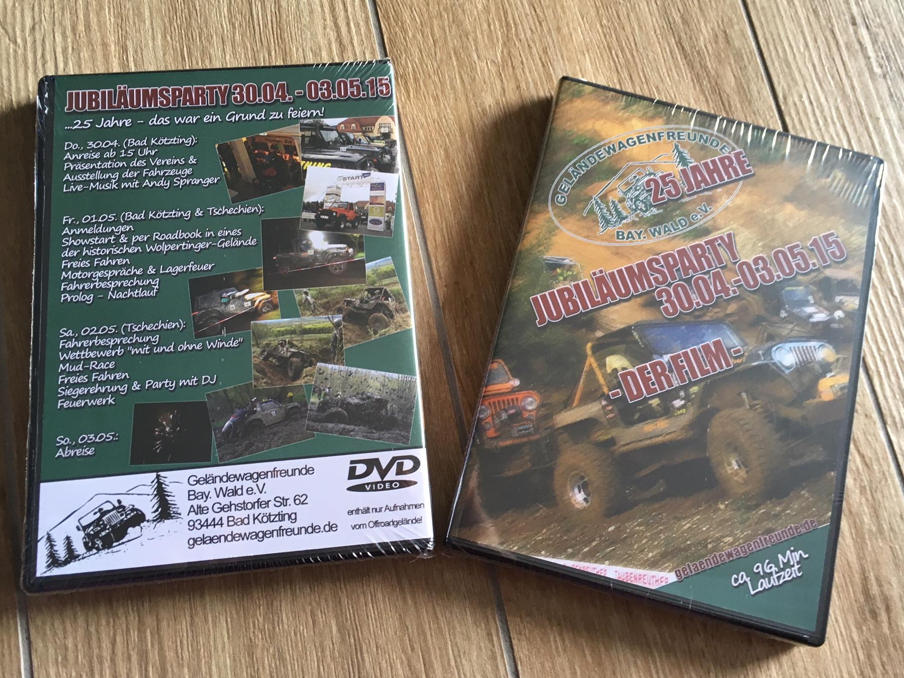 DVD von unserem Jubiläum - nur 10€